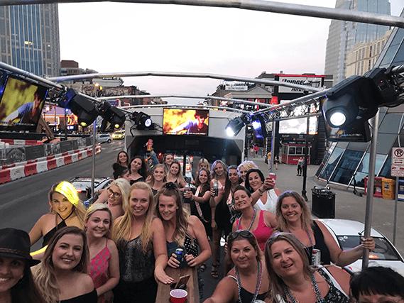 Nashville Bachelorette Party Bus
