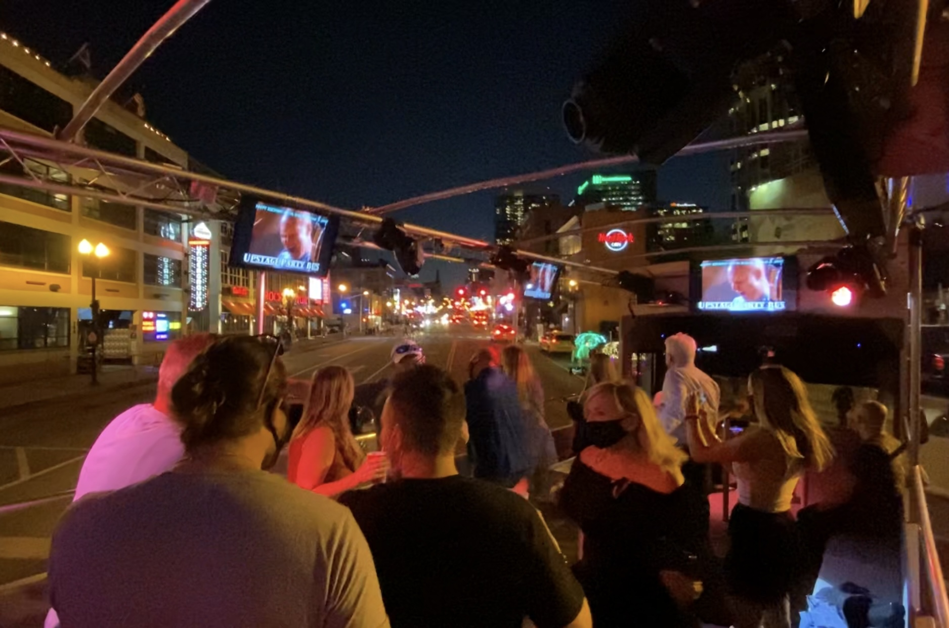 Open Air Party Bus in Nashville, TN